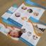 huisstijl, folder, flyers, cadeaubon