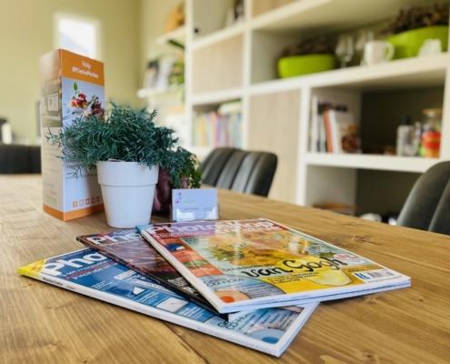 Leestafel, inspiratietafel, vergadertafel, werkruimte